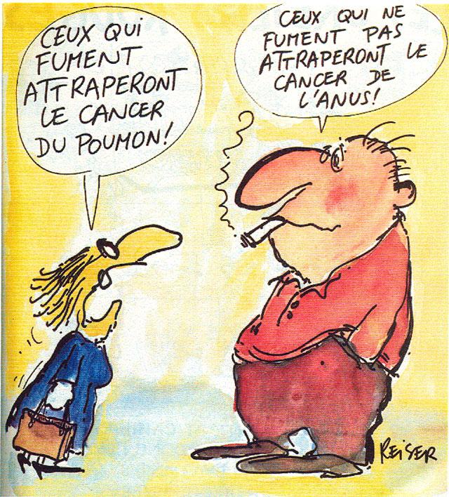 Les fumeurs...