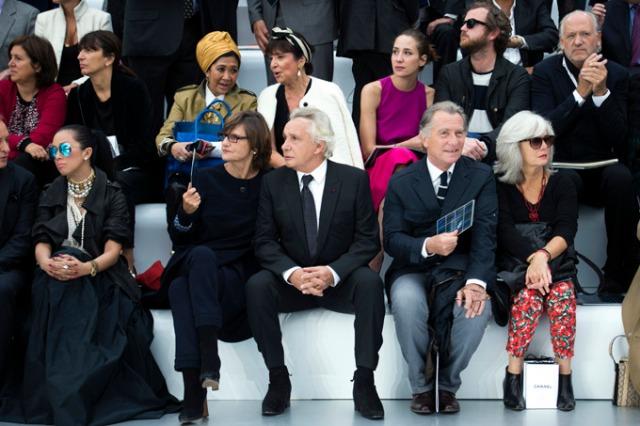 michel-sardou-william-lemergie-fashion-week-paris-2012-5 (Crédits : Le Figaro Madame)