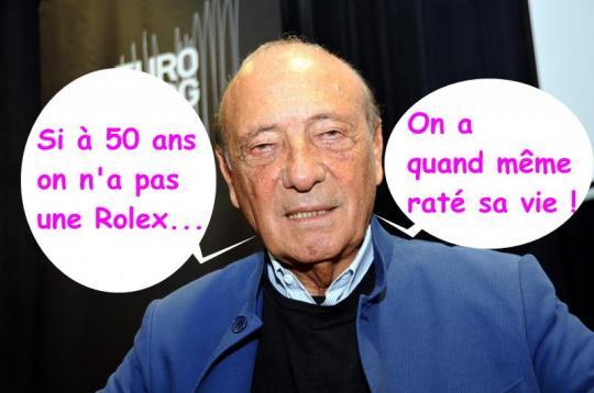 No comment, il y a d'autres Français d'en-haut encore plus vieux, encore bien pire, celui-ci a au moins eu longtemps le sens de l'humour et de l'auto-dérision