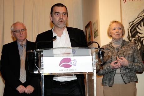 Les parents et l'avocat de Florence Cassez
