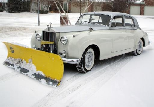Rolls Royce Snow