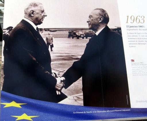 1963-De Gaulle-Adenauer