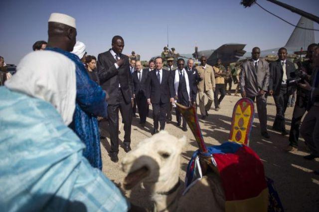 Le Président Hollande très attendu au Mali