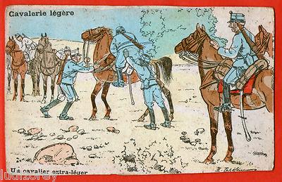 cpa-b20-dessin-humour-militaire-cavalerie-cheval-cavalier-conscrit-obese-lourd-1086831 - Crédits : inconnu