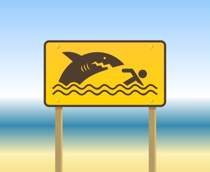 panneau-attention-requin