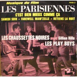 Les-Chaussettes-Noires-Gillian-Hills-Les-Playboys-Les-Parisiennes-45-Tours-303237646_ML