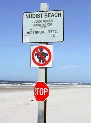 funny beach sign11