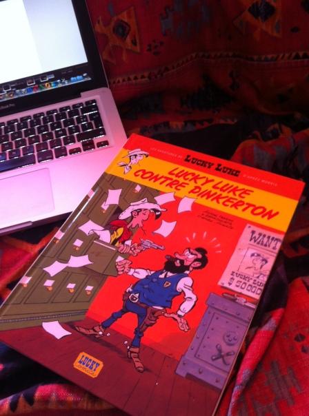 Lucky Luke contre Pinkerton et MacBook c Renaud Favier