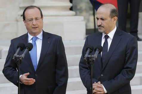 546201-french-president-francois-hollande-and-ahmad-jarba-head-of-the-opposition-syrian-national-coalition-