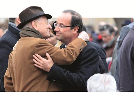 Pierre Bergé -François Hollande