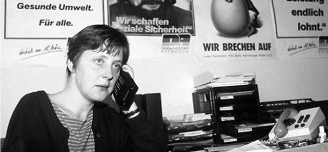 Angela Merkel 1990