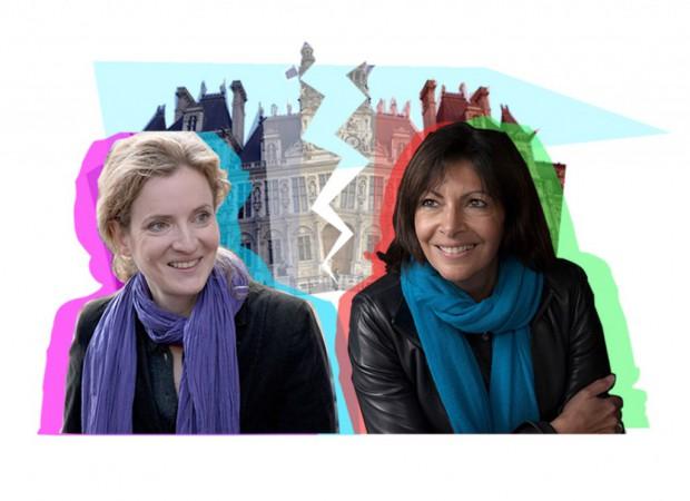 Nathalie-Kosciusko-Morizet-Anne-Hidalgo-Paris-a-tout-prix #Paris2014