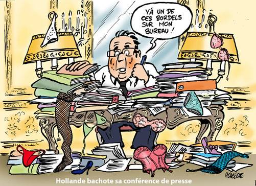 Hollande @Elysee