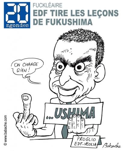 Proglio EDF Fukushima Nucléaire