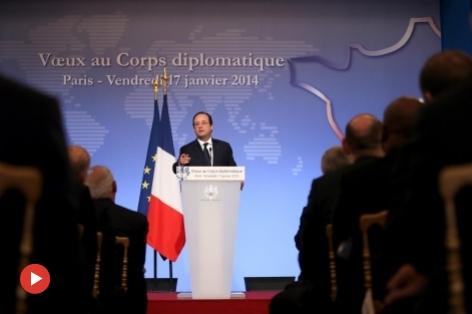 Voeux François Hollande 2014