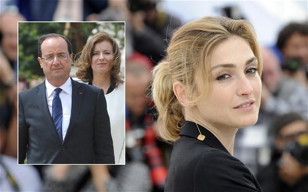 Hollande Valérie Trierweiler Julie Gayet