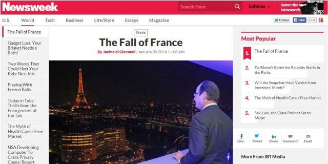 NEWSWEEK-facebook Fall of France Janine di Giovanni