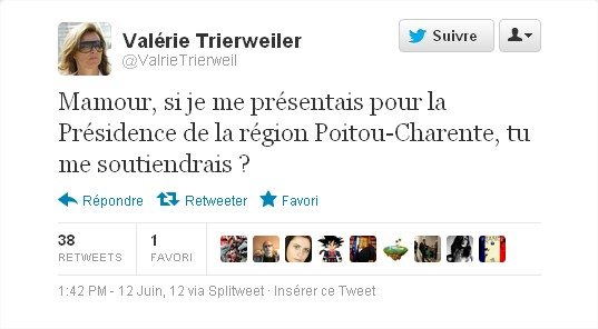 Twitter Trierweiler Humour