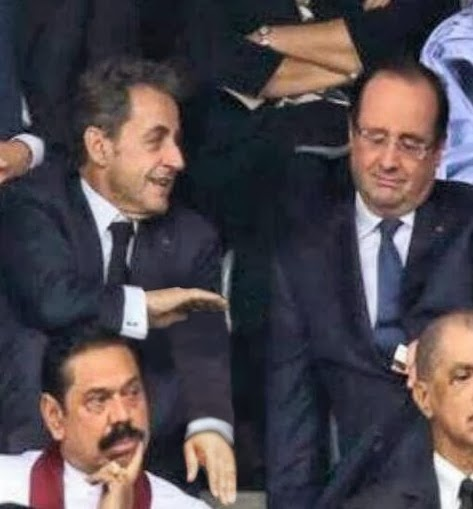 Sarkozy Hollande Comiques