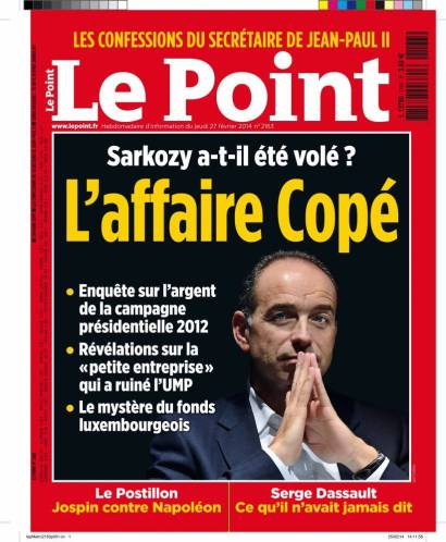 Le Point Affaire Copé