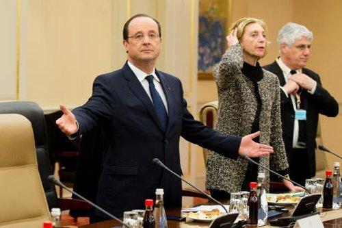 François Hollande Nicole Bricq