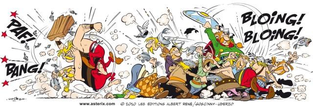asterix-bagarre