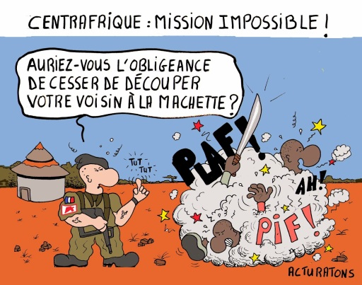 centrafrique mission impossible