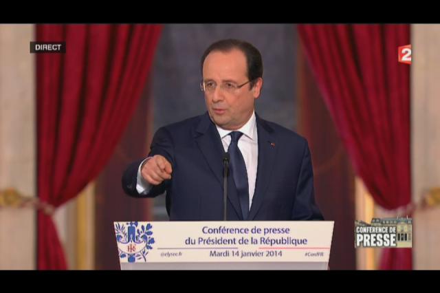 Conf_Presse_20140114-1 Elysee François Hollande