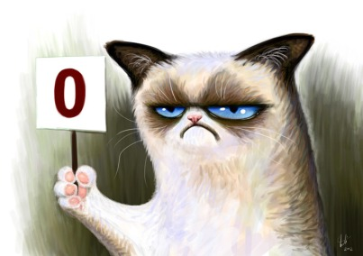Livre Clickertraining - Luc Grobben Grumpy-cat-01
