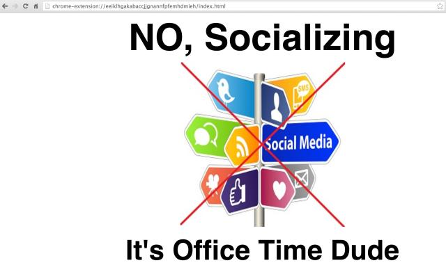 No-Socializing