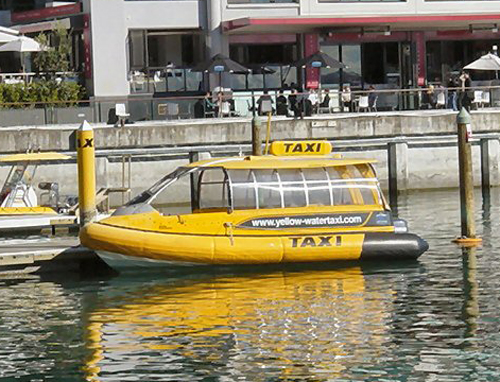 NZ-Auckland-Taxi-Boat