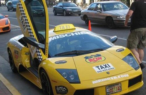 taxi-lamborghini