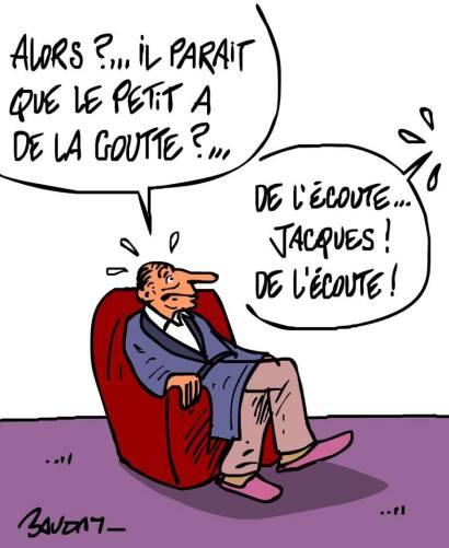 Chirac Sarkozy Ecoutes Elysée
