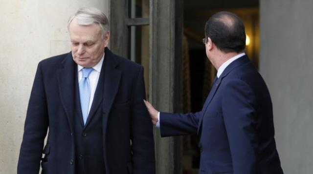 Ayrault Hollande Elysée Remaniement France Paris