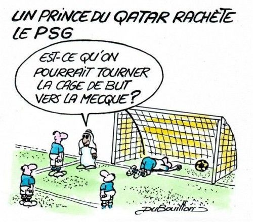Qatar PSG UMP Paris France