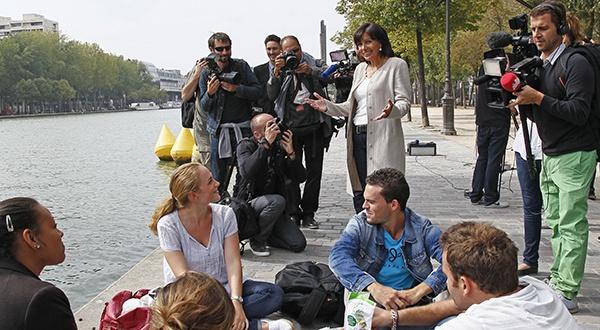 Et ouais Anne Hidalgo Paris #Paris2014 #Municipales2014