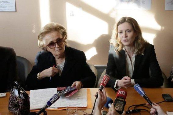 NKM Bernadette Chirac projet sante des parisiens Paris #Paris2014 #Municipales2014 France