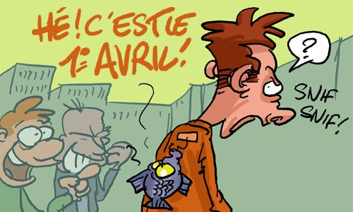 Poisson d'Avril Humour Blague 1er Avril