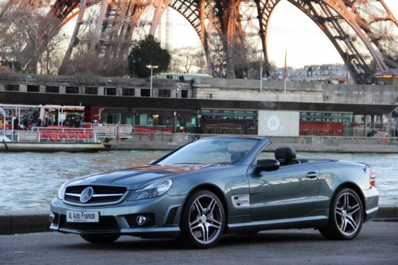 Mercedes Paris France Luxe