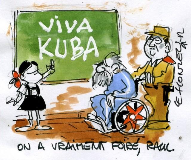 Contrepoints Cuba Réforme Ecole Communisme France Paris