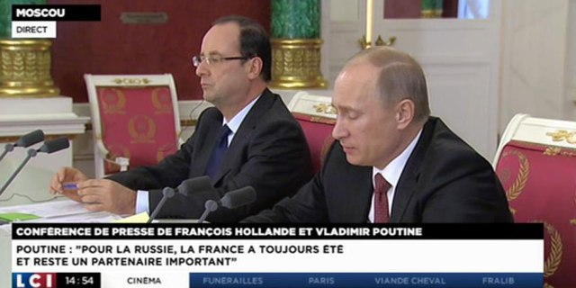 Hollande Poutine France Russie Humour Diplomatie