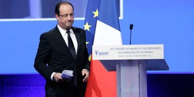 Un-an-apres-y-avoir-evoque-la-liberte-de-conscience-Francois-Hollande-ne-se-rendra-pas-au-congres-des-maires