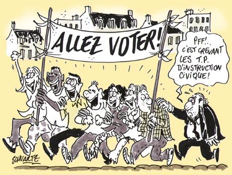 votez élections France