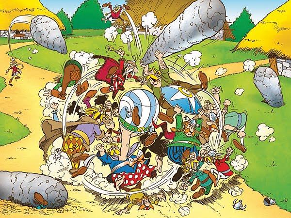asterix_bagarre