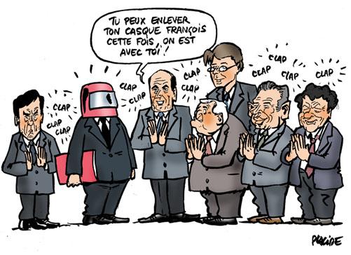 discours-hollande-medef-droite-cotisations-familiales-humour Remaniement PS Valls Charlot Les Charlots France Paris Humour
