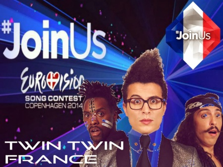 EUROVISION 2014 FRANCE TWIN TWIN 2