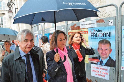 FRANCE2012-LEGISLATIVES-VOTE-PS-ROYAL