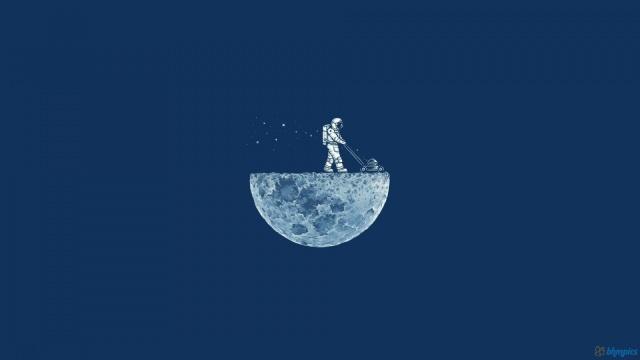 funny moon astronauts