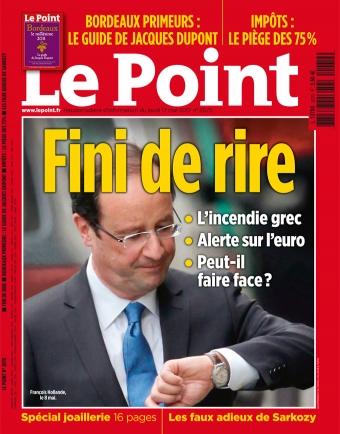 Hollande Elysée France Paris Blague fini-de-rire 1er avril April Day