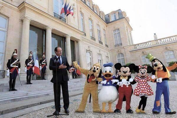Hollande PS Elysée Gouvernement Remaniement PS Valls Charlot Les Charlots France Paris Humour